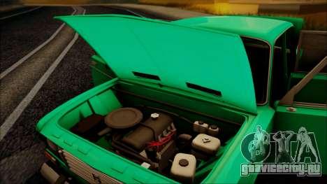 ВАЗ 2106 ШохерИзАда GVR для GTA San Andreas вид сзади