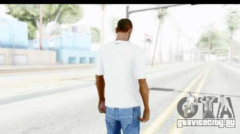Nike Kyrie Notebook T-Shirt для GTA San Andreas третий скриншот