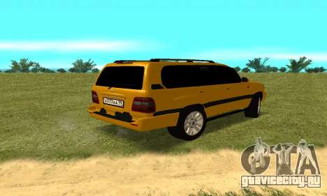 Toyota Land Cruiser 100 VX для GTA San Andreas вид слева