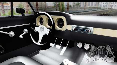Ford Falcon Sprint для GTA San Andreas вид изнутри