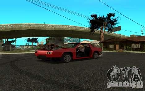 Buffalo (Tunning) для GTA San Andreas вид сзади слева