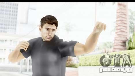 Lionel Messi Casual для GTA San Andreas