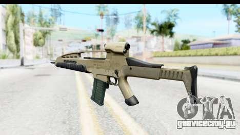 H&K XM8 для GTA San Andreas второй скриншот