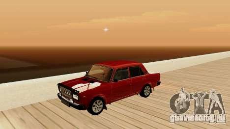 rus_racer ENB v1.0 для GTA San Andreas девятый скриншот