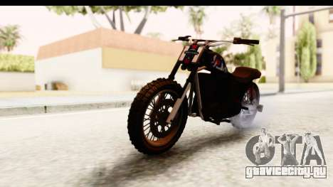 GTA 5 Western Cliffhanger Custom v2 для GTA San Andreas вид справа