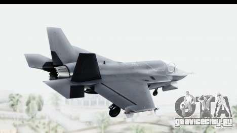 Lockheed Martin F-35B Lightning II для GTA San Andreas вид слева