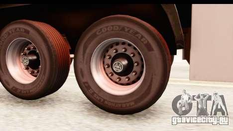 Trailer ETS2 v2 New Skin 2 для GTA San Andreas вид сзади
