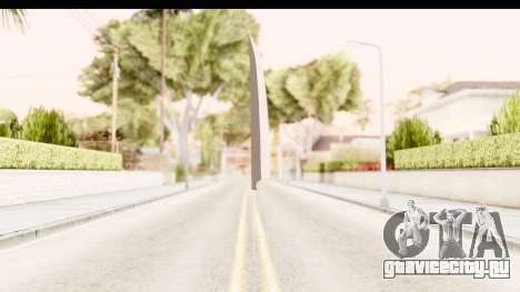 Bleach - Ichigo Weapon для GTA San Andreas второй скриншот