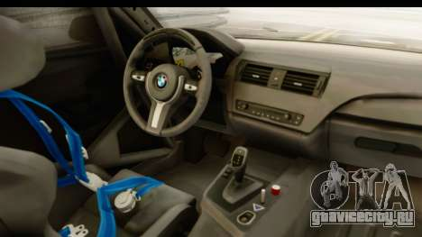 BMW M235i Coupe для GTA San Andreas вид изнутри