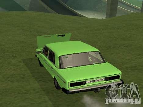 ВАЗ 2106 для GVR для GTA San Andreas вид слева