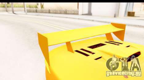 GTA 5 Progen Tyrus SA Style для GTA San Andreas вид сверху