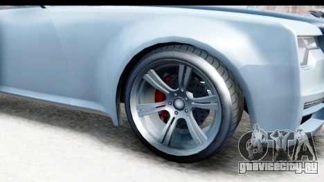 GTA 5 Enus Windsor Drop IVF для GTA San Andreas вид сзади
