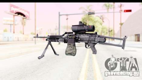 M240 FSK для GTA San Andreas второй скриншот