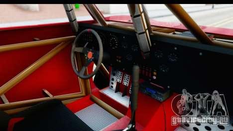 GTA 5 Trophy Truck SA Lights для GTA San Andreas вид изнутри