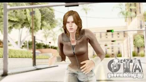 Helena Casual Skin для GTA San Andreas