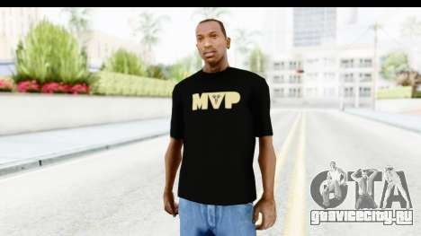 Nike MVP T-Shirt для GTA San Andreas второй скриншот