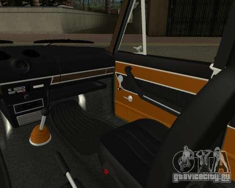 ВАЗ 2103 Armenian для GTA San Andreas салон