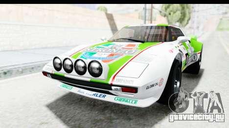 GTA 5 Lampadati Tropos SA Lights для GTA San Andreas вид снизу