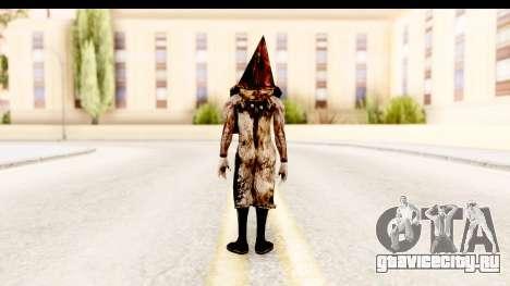 Silent Hill Downpour - Pyramid Head для GTA San Andreas третий скриншот