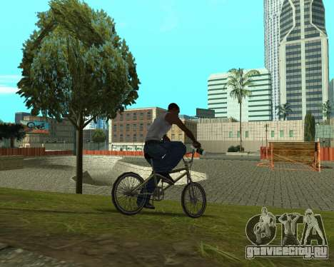 New HD Glen Park для GTA San Andreas шестой скриншот