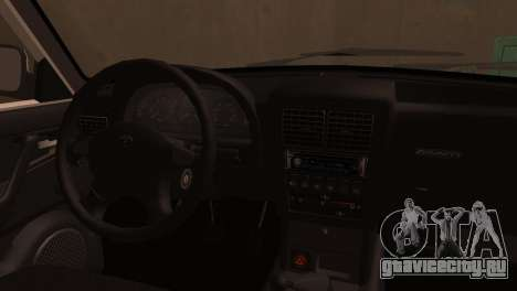 ГАЗ 3110 из сериала Чернобыль Зона отчуждения для GTA San Andreas вид сзади