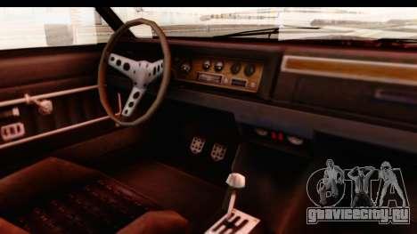 GTA 5 Albany Emperor IVF для GTA San Andreas вид изнутри