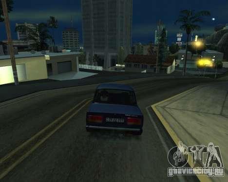 VAZ 2107 Armenian для GTA San Andreas вид сбоку