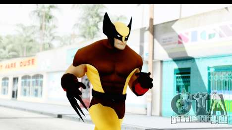 Marvel Heroes - Wolverine Brown для GTA San Andreas