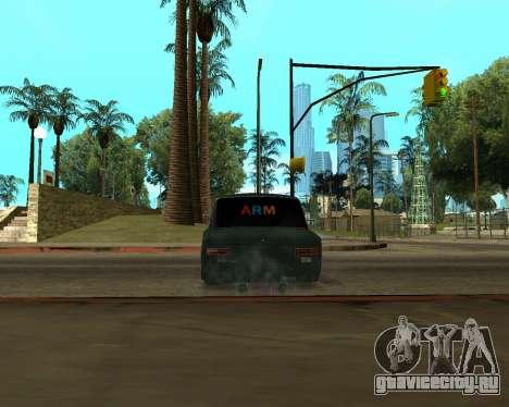 VAZ 2101 Armenian для GTA San Andreas вид сзади