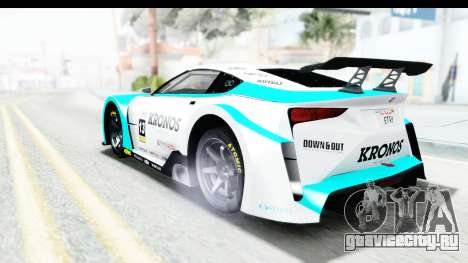 GTA 5 Emperor ETR1 v2 SA Lights для GTA San Andreas двигатель