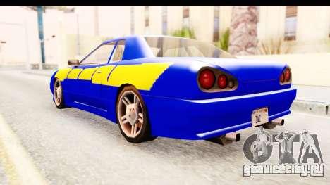 NFSU2 Tutorial Skyline Paintjob for Elegy для GTA San Andreas вид слева