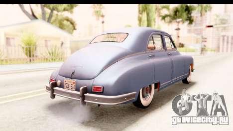 Packard Standart Eight 1948 Touring Sedan для GTA San Andreas вид слева