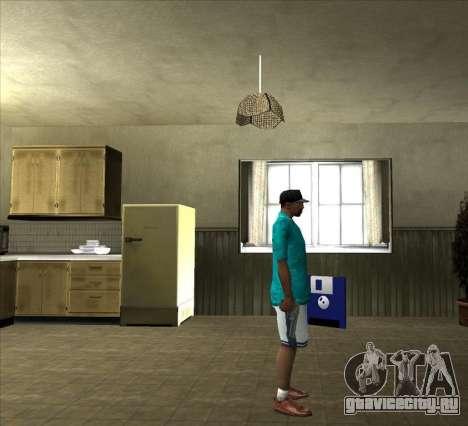 Рубашка Томми для GTA San Andreas четвёртый скриншот