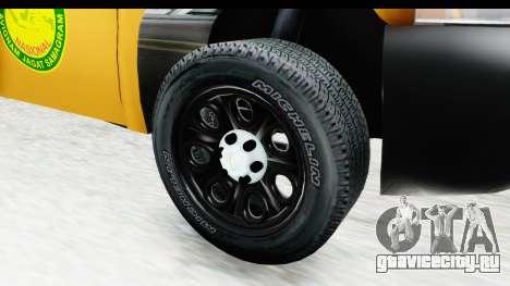 Chevrolet Silvedaro Basarnas для GTA San Andreas вид сзади