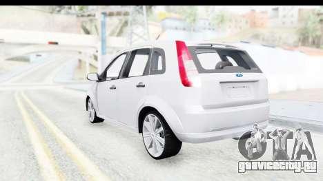 Ford Fiesta 2004 для GTA San Andreas вид слева