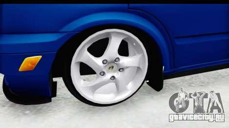 Ford Transit Air для GTA San Andreas вид сзади