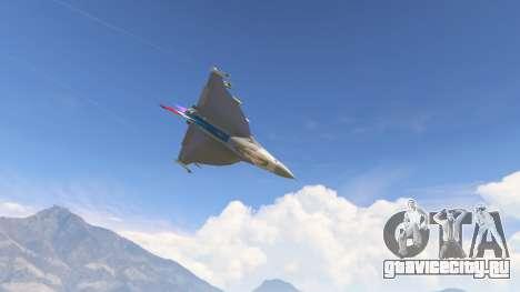 F-16XL USA для GTA 5 восьмой скриншот