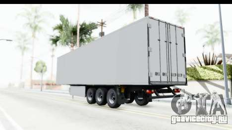 Trailer ETS2 v2 Old Skin 1 для GTA San Andreas вид слева