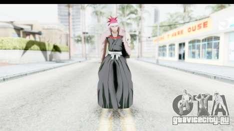 Bleach - Renji B для GTA San Andreas второй скриншот