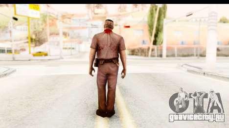 Left 4 Dead 2 - Zombie Policeman для GTA San Andreas третий скриншот