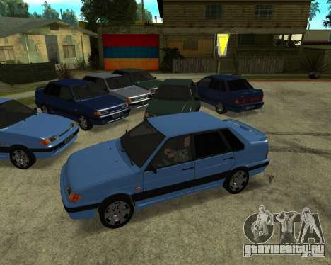 VAZ 21015 ARMENIAN для GTA San Andreas