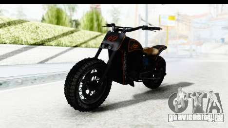 GTA 5 Western Gargoyle Custom v1 IVF для GTA San Andreas вид справа