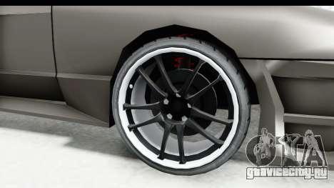 Elegy Sport Type v1 для GTA San Andreas вид сзади