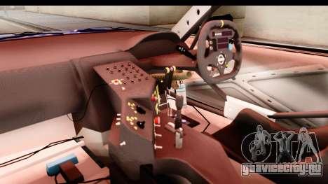 Nissan Sileighty 2015 D1GP для GTA San Andreas вид изнутри