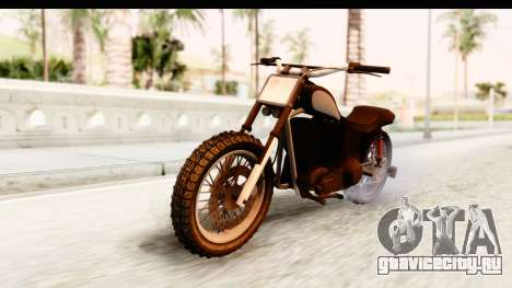 GTA 5 Western Cliffhanger Stock для GTA San Andreas