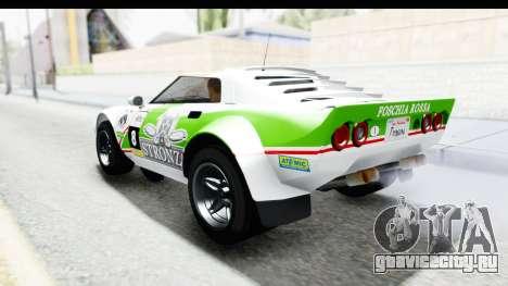 GTA 5 Lampadati Tropos SA Lights для GTA San Andreas салон