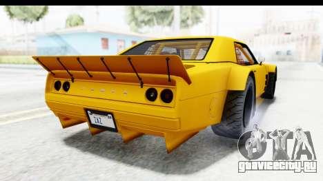 GTA 5 Declasse Drift Tampa для GTA San Andreas вид справа