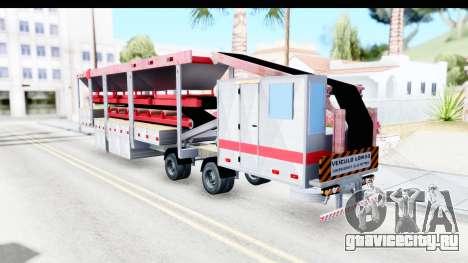 Trailer Brasil v6 для GTA San Andreas вид слева