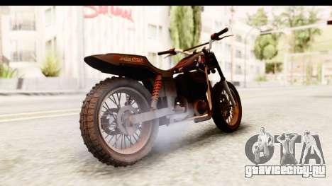 GTA 5 Western Cliffhanger Custom v2 для GTA San Andreas вид слева