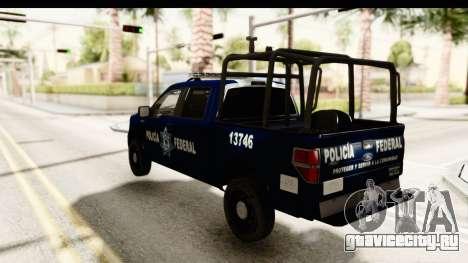 Ford F-150 Federal Police для GTA San Andreas вид слева